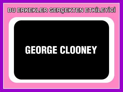 George Clooney  Alın size bir eski toprak, olgun, çekici bir yakışıklı daha...